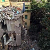 """Roma, crollo a Ponte Milvio: """"Noi, sfollati della Farnesina, dimenticati dalle istituzioni"""""""