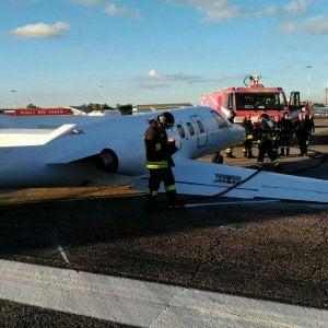 Ciampino, scalo di nuovo operativo dopo atterraggio di emergenza