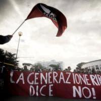 Corteo studenti: a Roma tafferugli con le forze dell'ordine