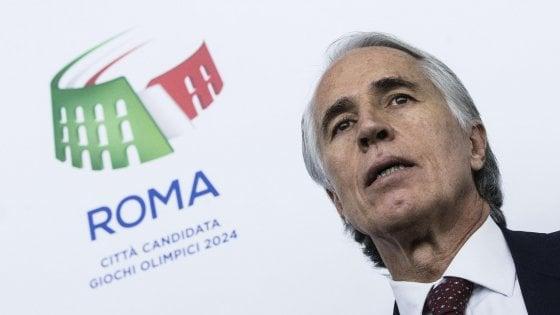 """Giochi 2024, lo sfogo di Malagò: """"Non erano i giochi del mattone. E Roma ce l'avrebbe fatta"""""""