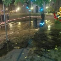 Roma, si rompe tubatura acqua a S.Croce di Gerusalemme. Autobotti e  disagi al traffico