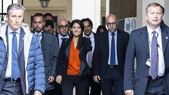"""Roma, primo vertice Comune-Governo. La sindaca: """"C'è soluzione sul salario accessorio"""""""