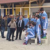 Lazio, la foto di Amatrice: