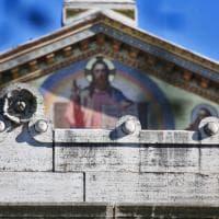 Terremoto, crepe sulla basilica di San Paolo fuori le mura