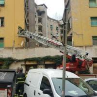 Roma, crepa nel palazzo: paura a Monteverde