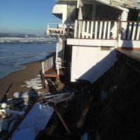 Sabaudia, maltempo e mareggiate: così rischia di scomparire la spiaggia dei vip