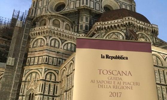 """La nuova """"Guida ai Sapori e ai Piaceri"""" della Toscana"""