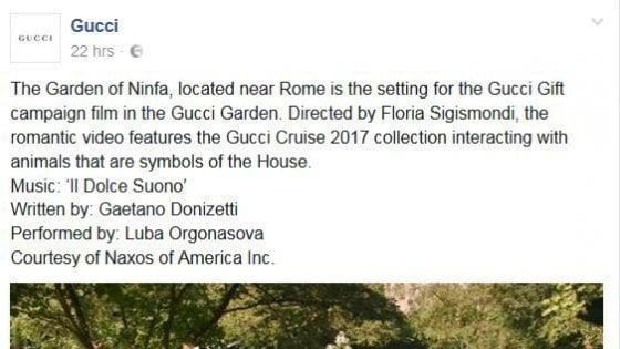 """Latina, la presidente della Provincia contro Gucci: """"Il giardino di Ninfa è nostro"""""""