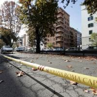 Roma, buca in via Ostiense: strada chiusa