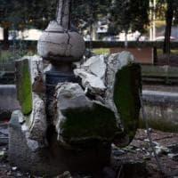Da piazza Mazzini a Campo de' Fiori, ancora degrado e incuria nelle fontane di Roma