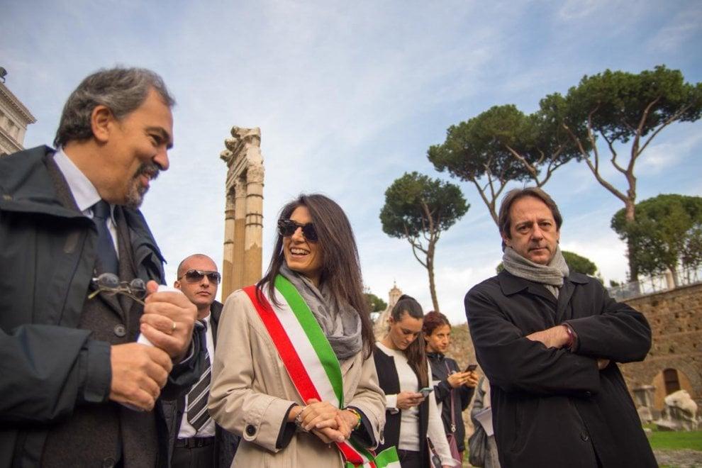 Roma, aperta dopo 20 anni l'area dei Fori Imperiali a ridosso del Campidoglio