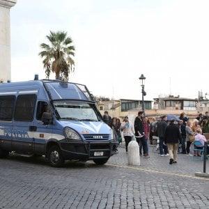"""Roma, tra cortei e Angelus weekend """"caldo"""" per le forze dell'ordine"""