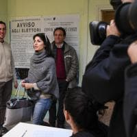 Roma, Raggi vota a Ottavia: