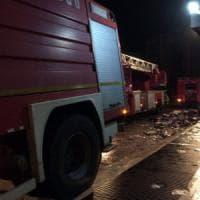 Roma, incendio in residenza universitaria: evacuati 40 studenti: un ferito