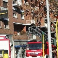 Roma, in fiamme l'appartamento dell'attrice Isabella Biagini: salvata dai pompieri