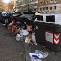 Roma, Natale di rifiuti al Flaminio