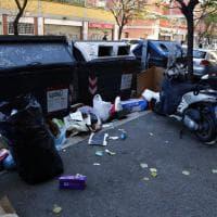 Rifiuti a Roma, a rilento raccolta Ama: alcuni quartieri invasi dall'immondizia