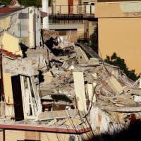 Roma, crolla palazzina ad Acilia
