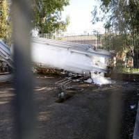 Roma, guasto all'impianto di ossigenazione del San Camillo: ecco la lastra di ghiaccio che ha ricoperto la bombola