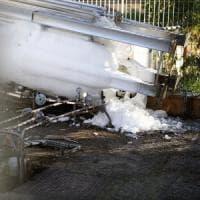 Roma, riparato il silos danneggiato