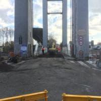 Fiumicino, ponte Due Giugno, partiti i lavori per la sostituzione della struttura