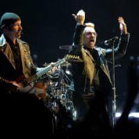 Roma, gli U2 allo stadio Olimpico