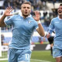 Lazio-Atalanta 2-1, Immobile decide la sfida tra le sorprese