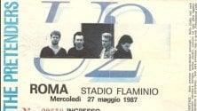 U2, 50 mila al Flaminio 30 anni fa il concerto  Mandateci i vostri ricordi