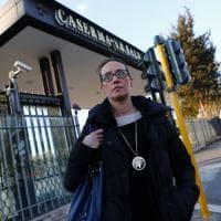 Roma, Ilaria Cucchi dai carabinieri di Tor di Quinto: