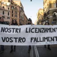 Crisi Almaviva a Roma, le testimonianze: