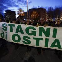 Roma, la marcia dei 500 contro la proproga del commissariamento