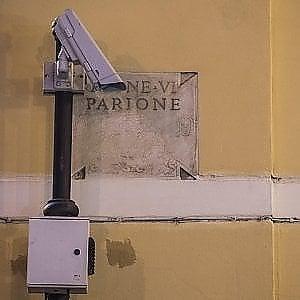 Roma, le telecamere di sicurezza della questura fuori uso da tre mesi