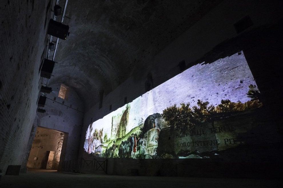 Con la realtà virtuale la Domus Aurea si mostra com'era ai tempi di Nerone