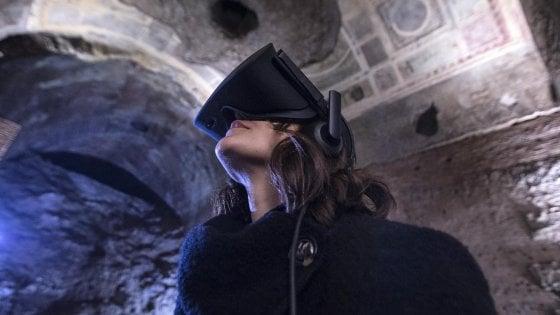 Roma, la Domus Aurea come ai tempi di Nerone con le visite in realtà virtuale