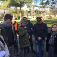 Roma, manutentori del verde occupano l'assessorato all'Ambiente: