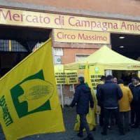 Roma, protesta per salvare il mercato del Circo Massimo