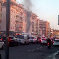 Roma, ancora un bus a fuoco: fiamme sul 46 a Cornelia
