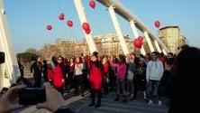 Flash mob contro  violenza sulle donne