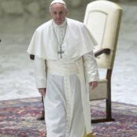 Roma, papa Francesco a Ponte di Nona domenica 19