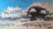 """La mostra """"Città d'aria""""    personale di David Tozzi"""