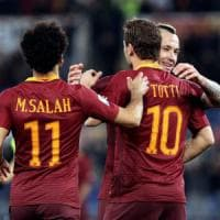 Roma, Totti e El Shaarawy in campo col Villarreal, a riposo Dzeko e Salah