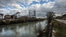 Un parco sul fiume  tra le vecchie industrie