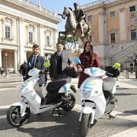 Roma, trasporto condiviso: ad aprile 250 scooter per lo sharing elettrico
