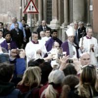 Roma, il Papa all'Aventino per la processione delle Ceneri