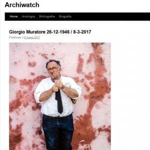 Roma, addio allo storico dell'architettura Giorgio Muratore