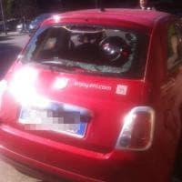 Roma, cinquecento Enjoy vandalizzata all'Eur: danni per duemila euro