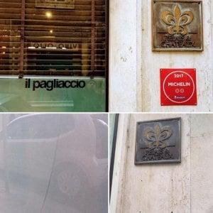 Roma, vetro rotto e targa Michelin rubata al ristorante stellato Il Pagliaccio