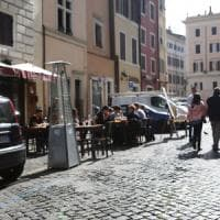 Roma, tavoli sul posto-disabili al ristoratore multato 5 giorni di chiusura