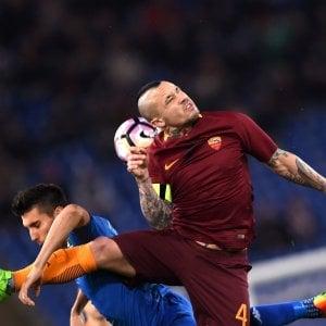 """La Roma vince col Sassuolo. """"Non siamo stanchi ma l'obiettivo ora è il secondo posto"""""""