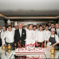 Candeline gourmet per i dieci anni di Imàgo all'Hassler